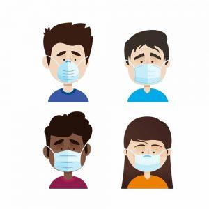 Camiseta uso de las mascarillas Coronavirus