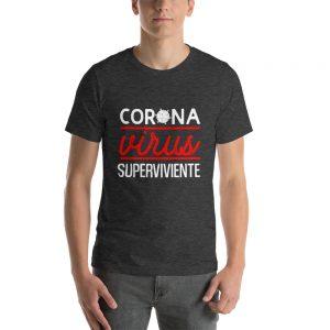 Camiseta Hombre superviviente del Coronavirus