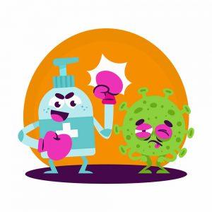 Camiseta Coronavirus - Importancia de la higiene