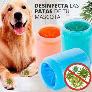 Desinfecta las patas de tu perro