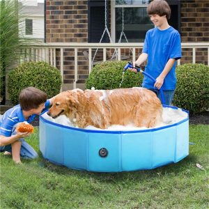 Piscina para perros portátil