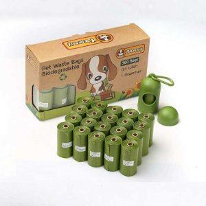 Bolsas biodegradables para recoger excrementos de perros