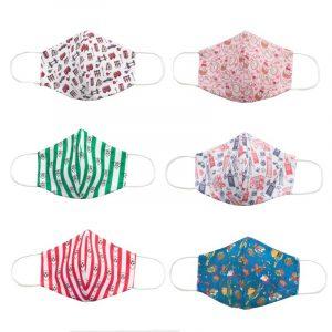 Mascarilla de tela lavable para niños