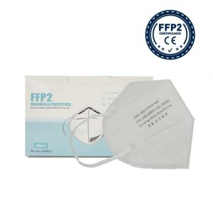 Mascarilla blanca homologada FFP2